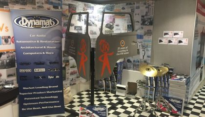 Dynamat takes sound deadening products on tour